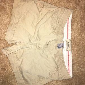 Khaki Old Navy shorts